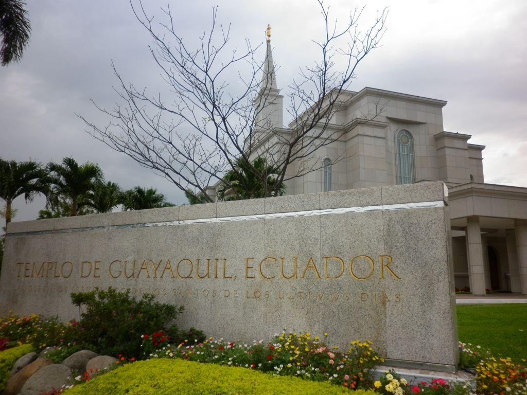 Nuevo presidente de Templo de Guayaquil, Ecuador.